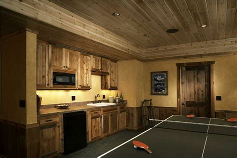 rustic finished basement pin by kristen mayeaux on home ideas