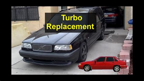 remove  install  turbo charger replacement volvo     votd youtube