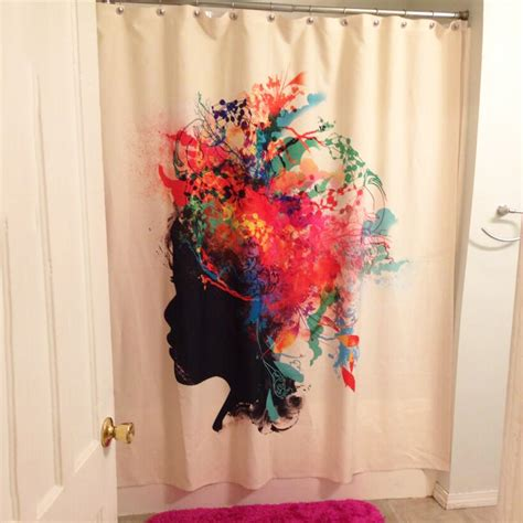 clever shower curtains unique shower curtains
