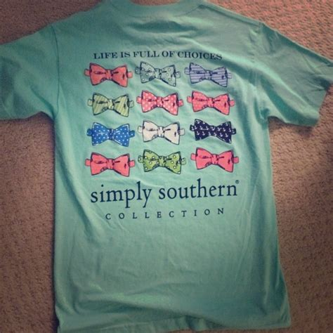 s simply southern southern new 40 simply southern tops simply southern bow tie