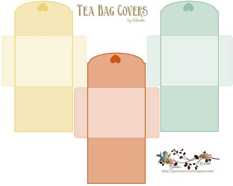 tea bag cover template pictures to pin on pinterest