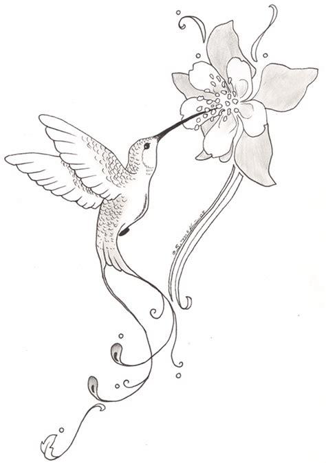 hummingbird with flower tattoo designs tattoos of humming bird hummingbird flower tattoos designs
