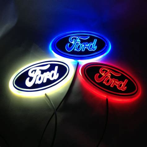 Light Up Car Emblems 17 best ideas about ford emblem on ford