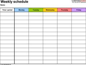 Pdf Calendar Template by Weekly Calendar Pdf Weekly Calendar Template