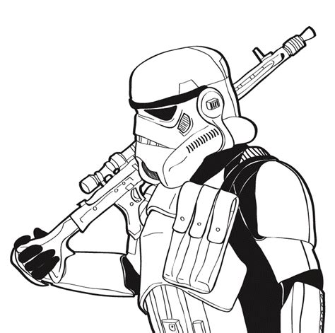 stormtrooper coloring pages wars coloring pages free printable wars