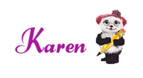 imagenes gif karen pin nombre de karen todo para facebook imagenes on pinterest