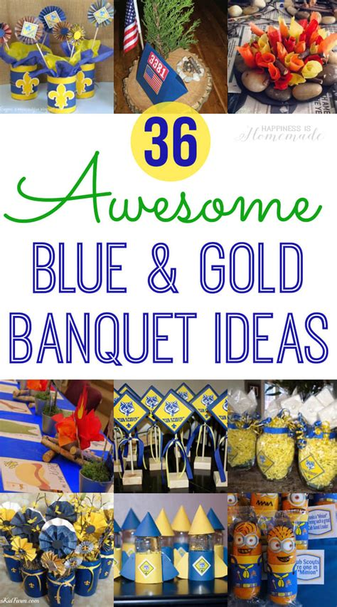 blue gold themes ideas cub scout blue gold banquet ideas happiness is homemade