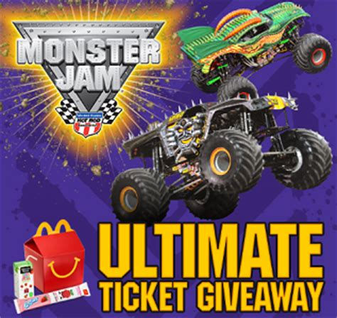 monster jam ultimate ticket giveaway sweepstakes - Ticket Sweepstakes