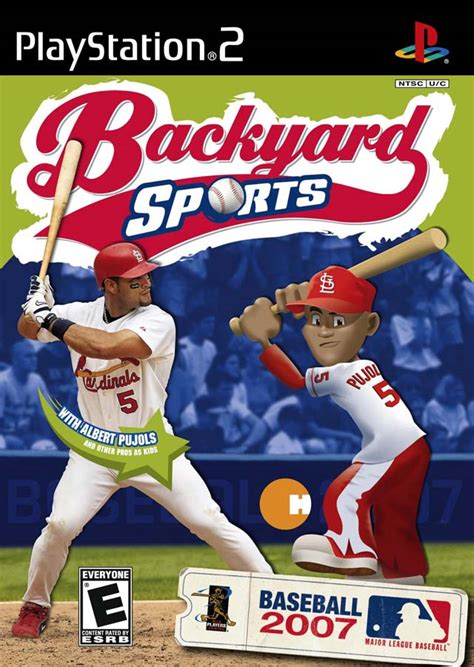 backyard baseball 2007 sony playstation 2