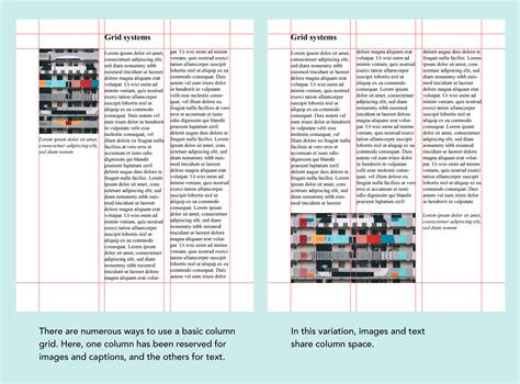 layout on grid layout design types of grids for creating professional
