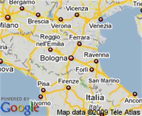 map of italy bologna map of bologna italy hotels accommodation
