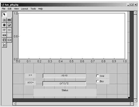 layout editor in matlab high level gui development guide elements of gui design