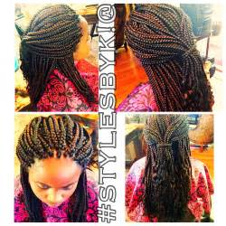 how to style xpressions hair medium box braids with xpressions braiding hair wavy ends