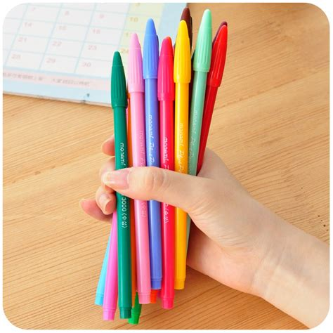 Gel Pen Warna Coloring Korea Books 24 Pcs T1310 3 compare prices on monami pen shopping buy low price monami pen at factory price