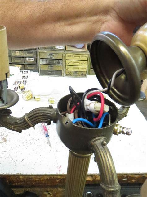 lamp parts  repair lamp doctor broken antique brass