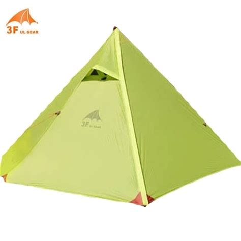 Tenda 2 Person Outdoor Tent Layer Cing Waterproof 3 Season pyramid tent layer 1 2 person potable waterproof