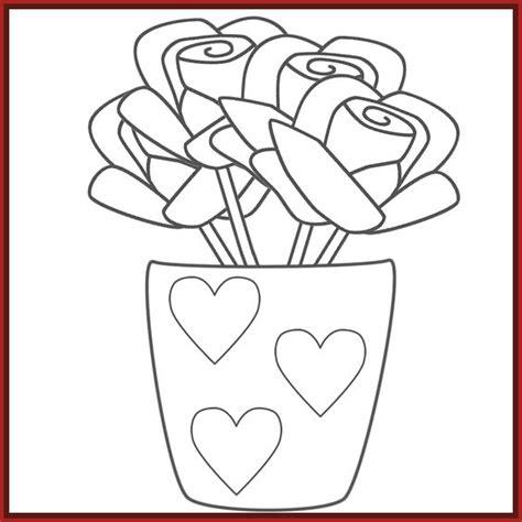 imagenes de rosas y corazones para colorear dibujos de rosas para colorear archivos imagenes de rosa