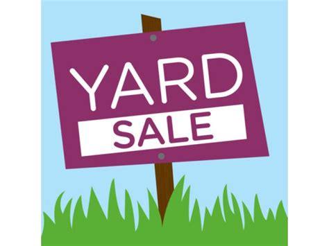 Backyard Sale by Community Yard Sale Scheduled In Sleepy Hollow Falls