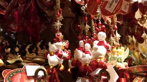 christmas merchandise 2015 at disneyland paris youtube