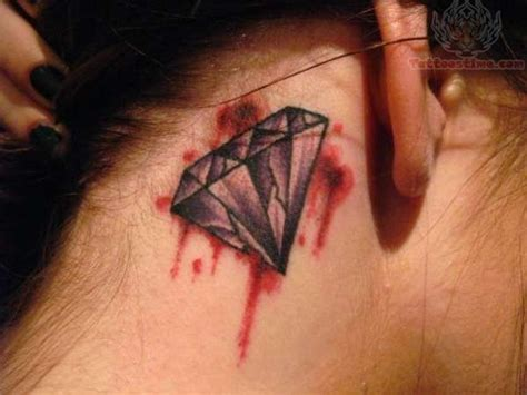 gang tattoo behind ear blood diamond tattoo behind ear