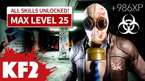 killing floor 2 how to level up your perk xp fast no