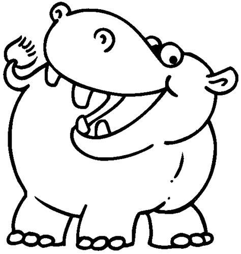 imagenes para colorear hipopotamo imagen zone gt dibujos para colorear gt animales hipopotamos