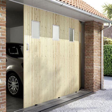 poser une porte de garage coulissante installer une porte de garage coulissante castorama