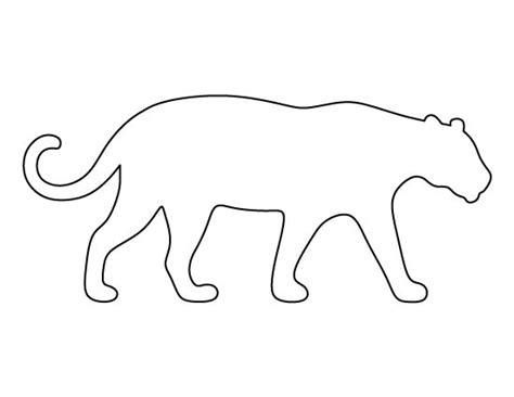 rainforest animal templates jaguar pattern use the printable outline for crafts