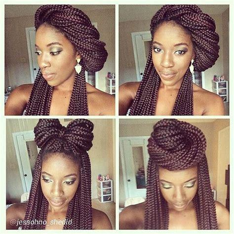 hairstyles for block braids 50 box braids hairstyles that turn heads stayglam