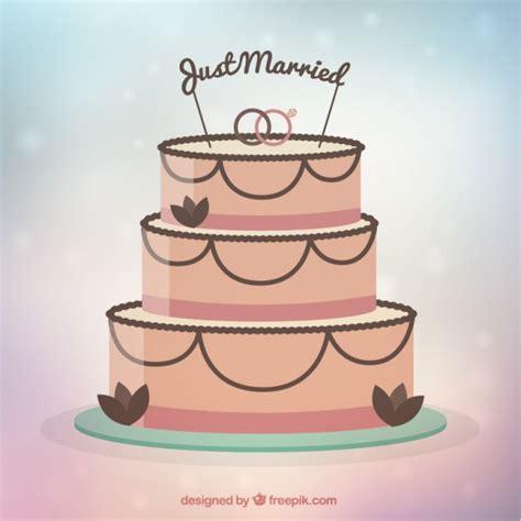 Wedding Cake Vector by Flat Wedding Cake Vector Free