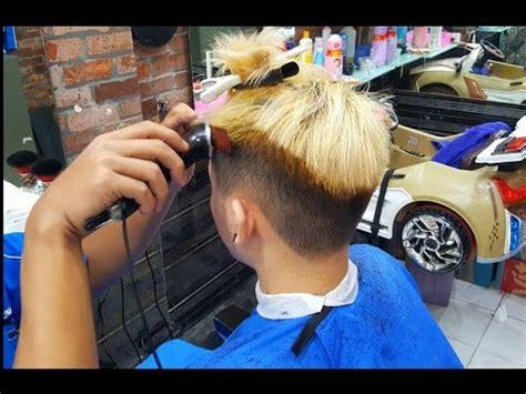 tutorial mencatok rambut yang benar tutorial potong rambut pria yang bagus ada di krendang