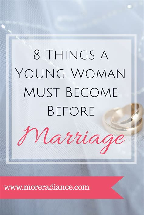 7 Things To Consider When Marrying A Younger by 8 Things Must Become Before Marriage More