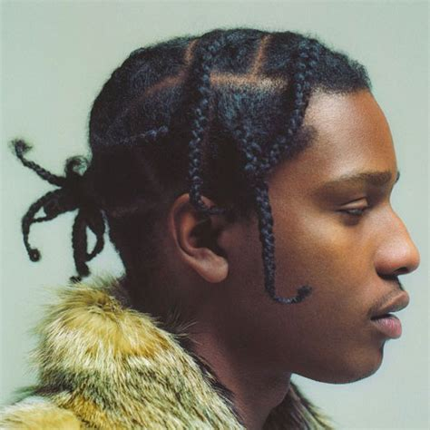 ASAP Rocky Braids   Men's Haircuts   Hairstyles 2017