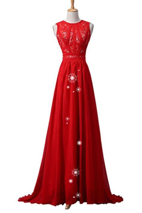 Handmade Evening Dresses - simple cheap chiffon lace prom dresses handmade