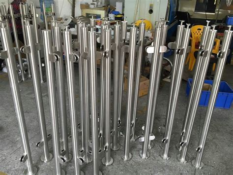 stainless steel banister china supplier stainless steel post handrail glass