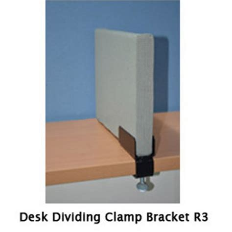 Office Chairs With Casters by Desk Divider Clamp Bracket