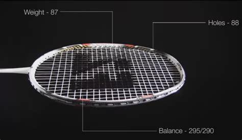 Raket Standar perlengkapan bermain badminton bulutangkis kabar sport