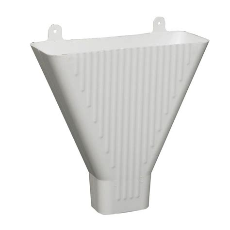 the funnel house amerimax home products white plastic funnel 85208 the