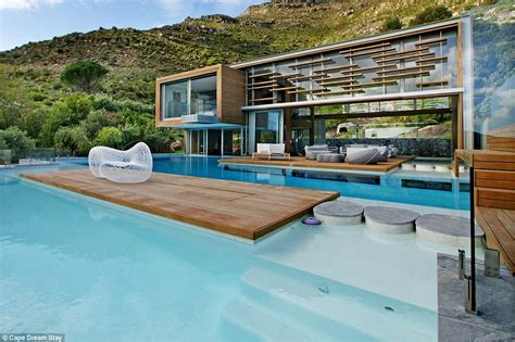 Luxury White Bed Linen - infinity pools an indoor jacuzzi and your own steam room inside the stunning cape town spa