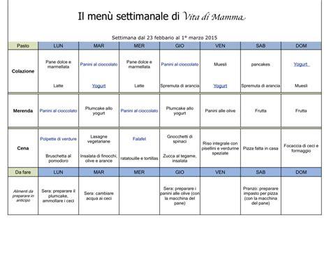 alimentazione corretta menu settimanale dieta dieta dimagrante mettersi a dieta dieta per