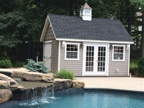 pool shed custom pool houses amish mike amish sheds amish barns