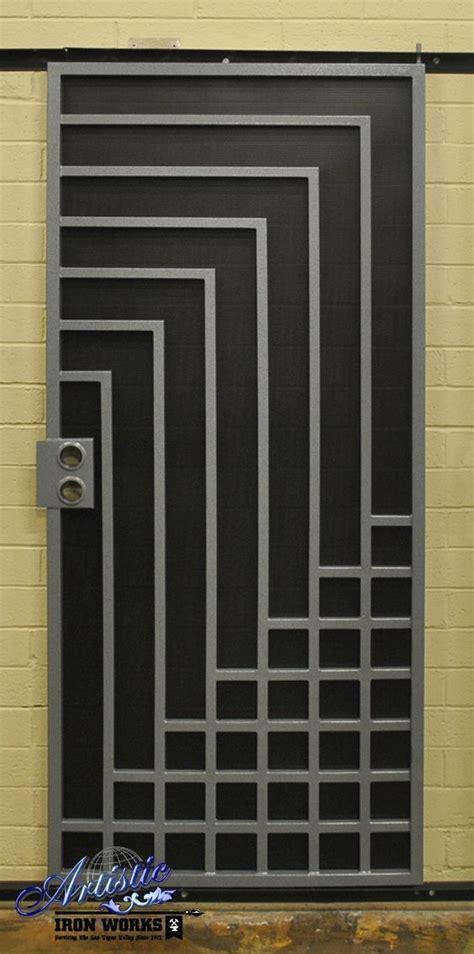 Steel Security Doors Design Ideas Wrought Iron Security Screen Door надо попробовать Pinterest Security Screen Wrought
