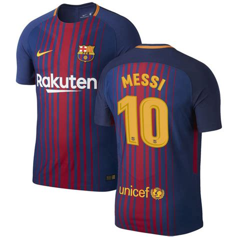 barcelona jersey 2017 messi lionel messi barcelona nike 2017 18 home vapor match