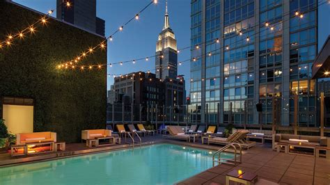 best nyc the best nyc hotels with rooftop and indoor pools curbed ny