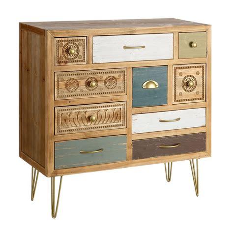 mueble cajones mueble recibidor 10 cajones vintage portes gratis te