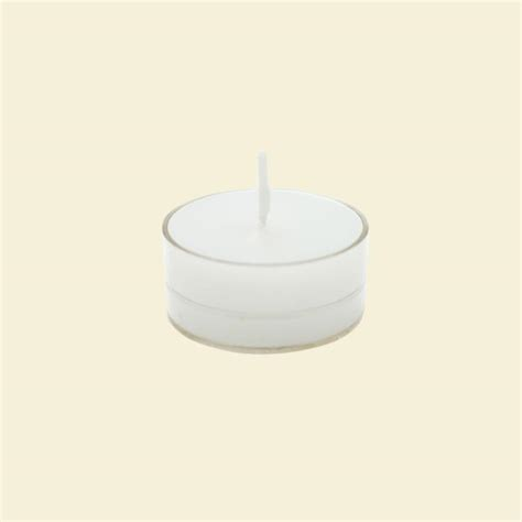 zest candle 1 5 in white citronella tealight candles 50 pack ctz 022 the home depot