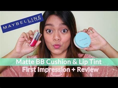 Maybelline Lip Tint Terbaru maybelline quot fresh matte cushion quot quot color sensational lip tint quot review fi makeupbydifa