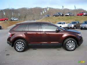 cinnamon metallic 2009 ford edge sel exterior photo