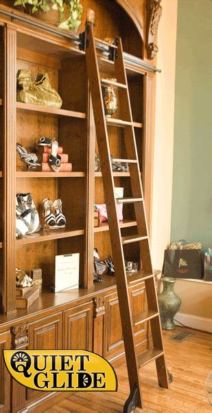 Rolling Pantry Ladder by Rolling Library Ladder For Pantry