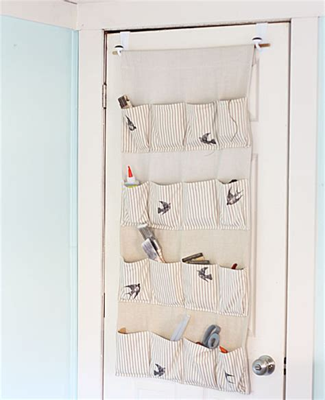 Hanging Door Organizer by Stylish Storage Hanging Organizer The Graphics